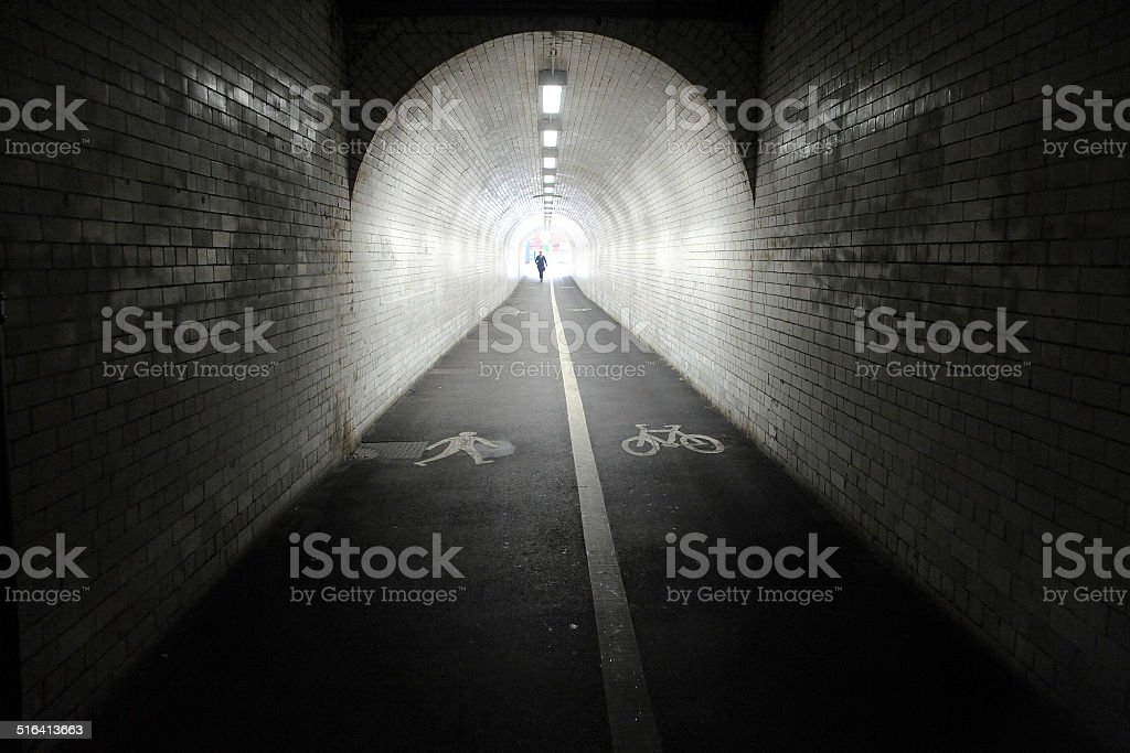 Tunnel. stock photo