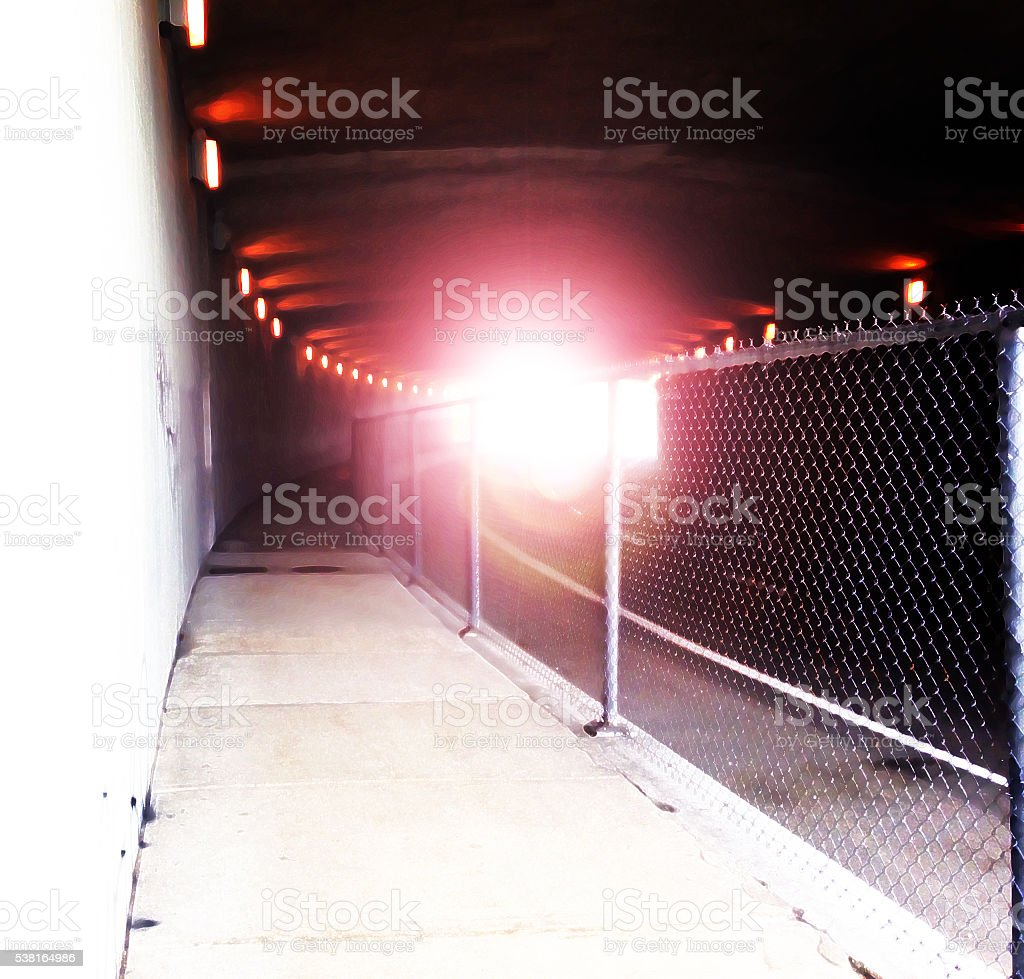 Tunnel - Royalty-free Fence Stock Photo