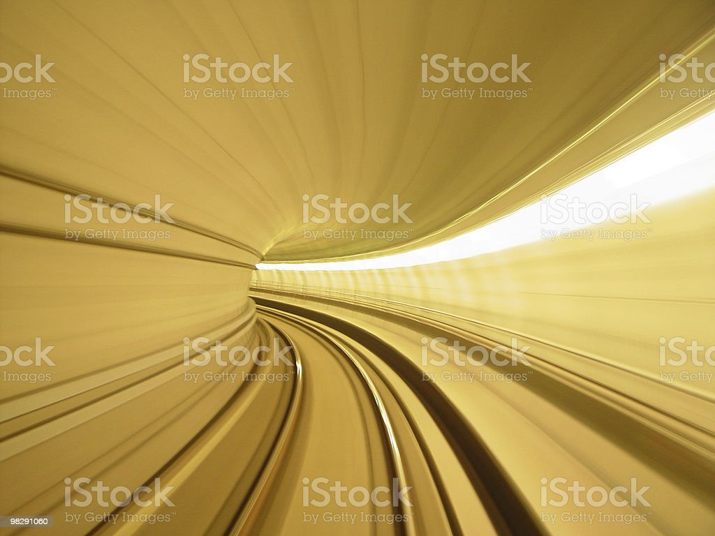 tunnel foto stock royalty-free