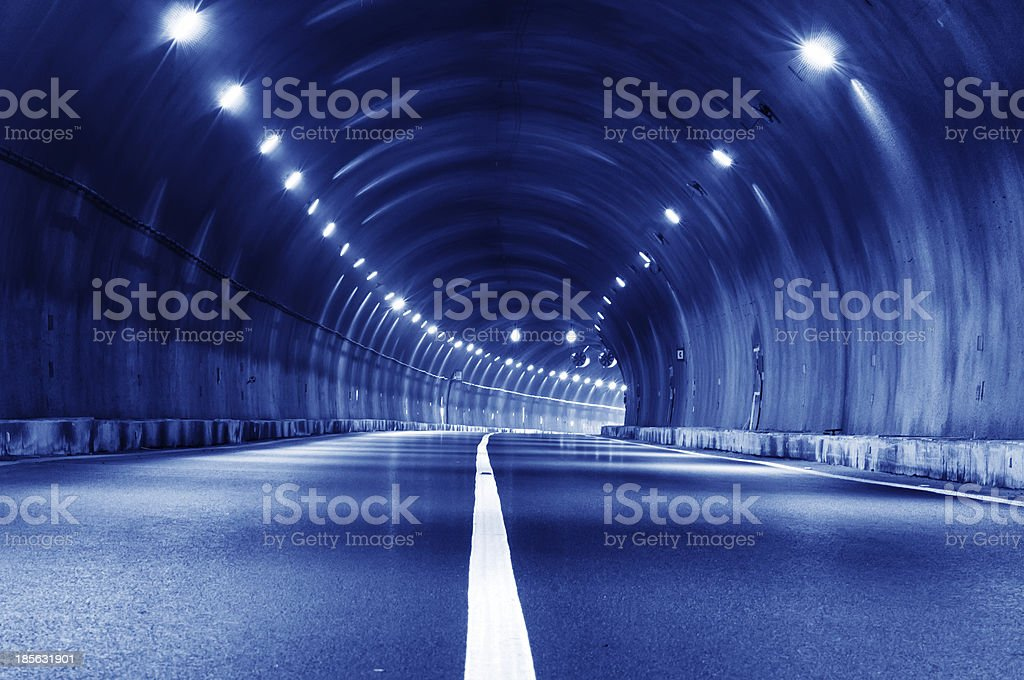 tunnel trajectory royalty-free stock photo