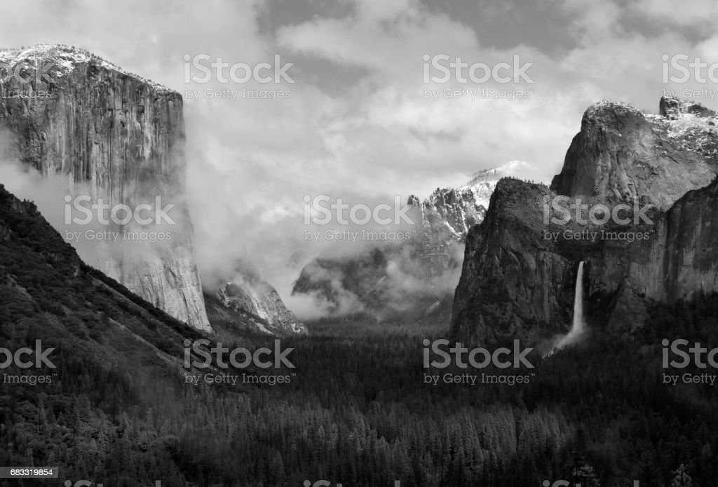Tunnel View royalty-free stock photo