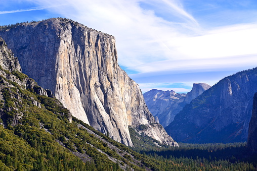 Tunnel View with El Capitan and Half Dome