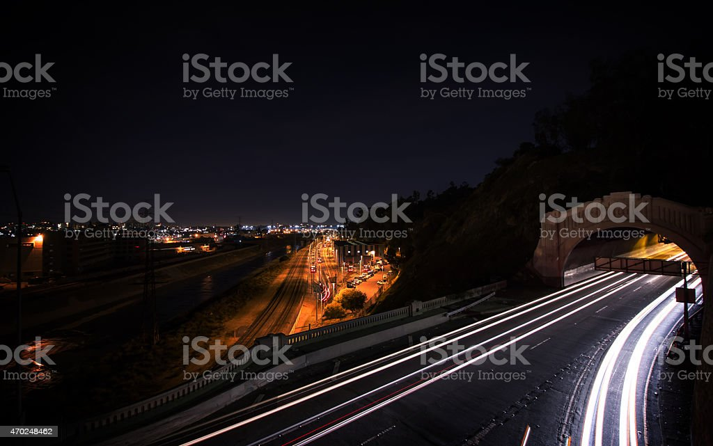Tunnel Vision stock photo