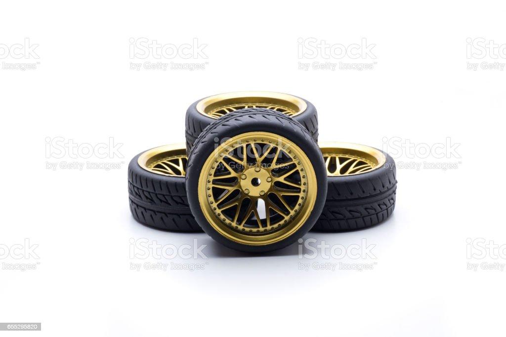 tunning wheel stock photo