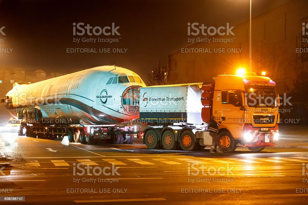 Tupolev stock photo