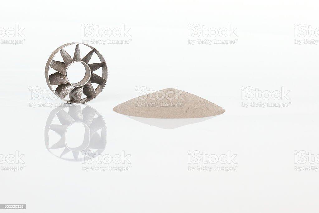 Turbine 2 stock photo