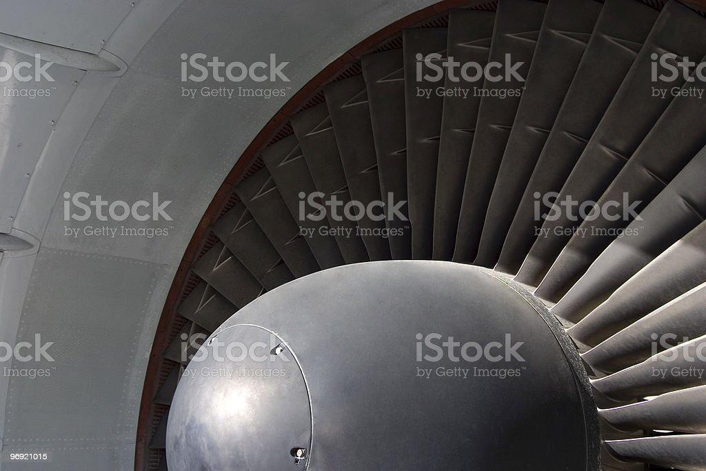 Turbine Blades 2 royalty-free stock photo