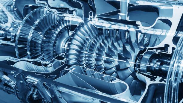 Turbine Engine Profil. Aviation Technologies. – Foto