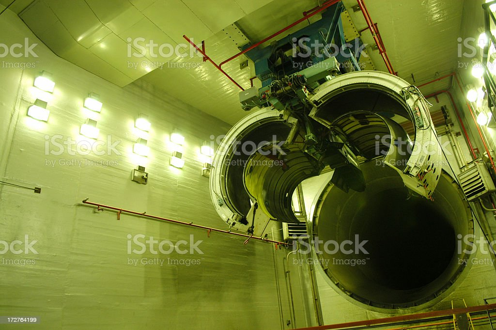 Turbine Engine Tester royalty-free stock photo