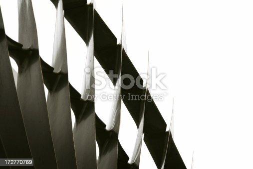 istock Turbine Fan Blades 172770769