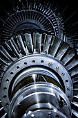 istock Turbine in reparation process 1180029511