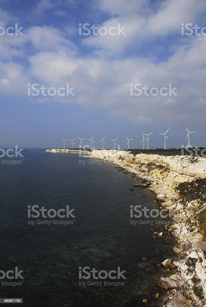 turbines royalty free stockfoto