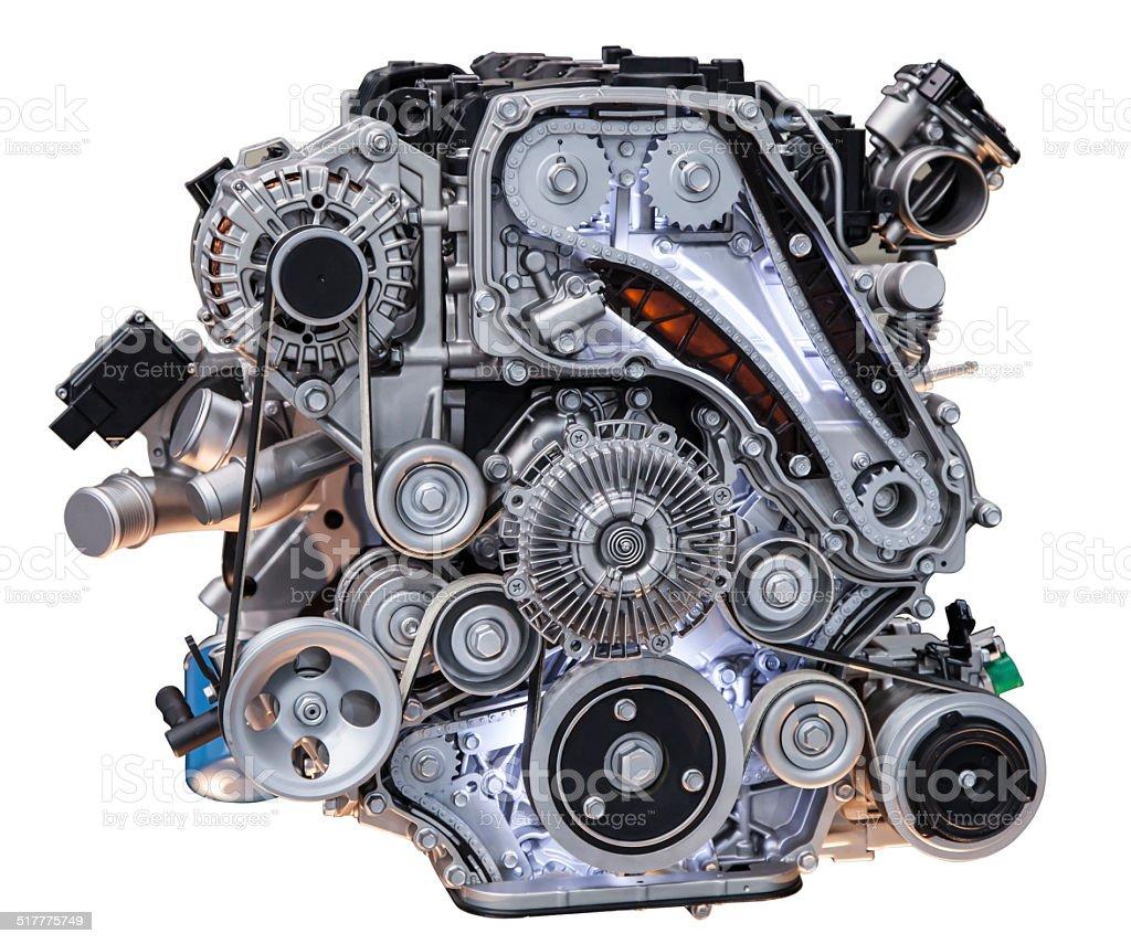 Fotografía de Camión De Motor Turbo Diesel y más banco de imágenes ...
