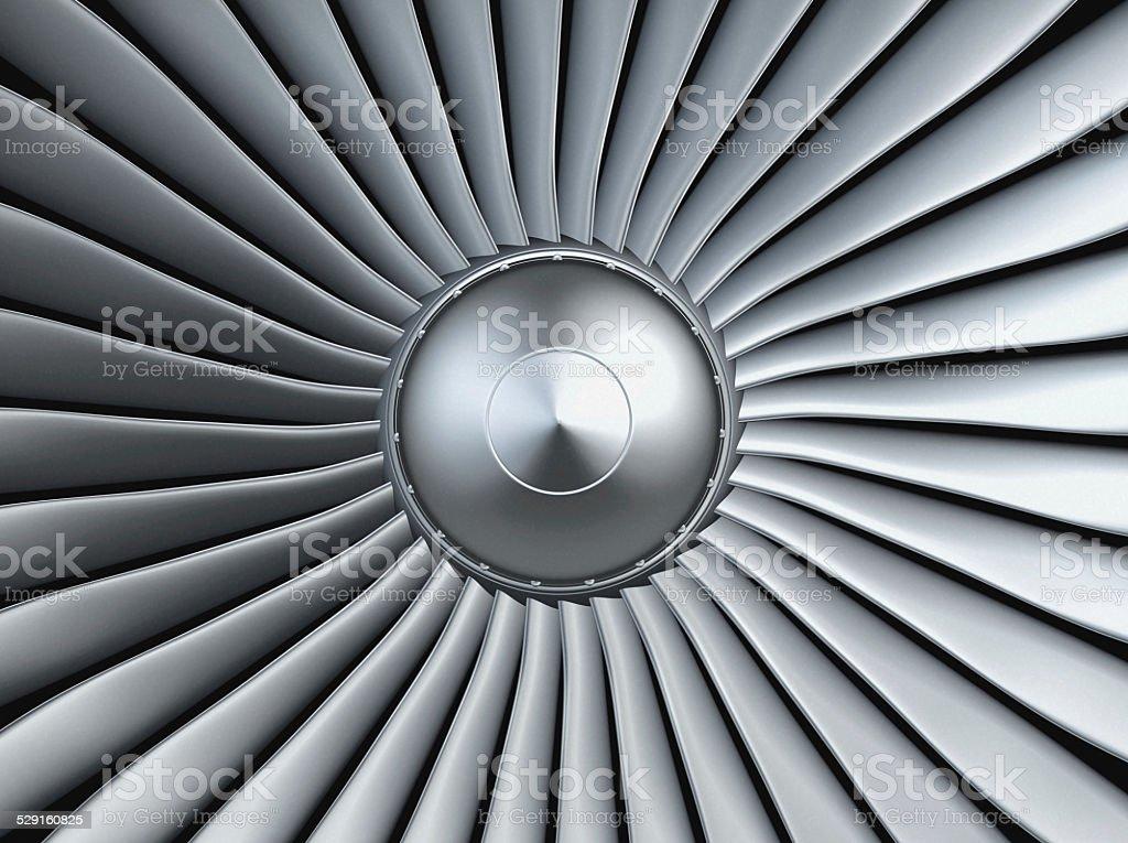 Turbo jet engine – Foto