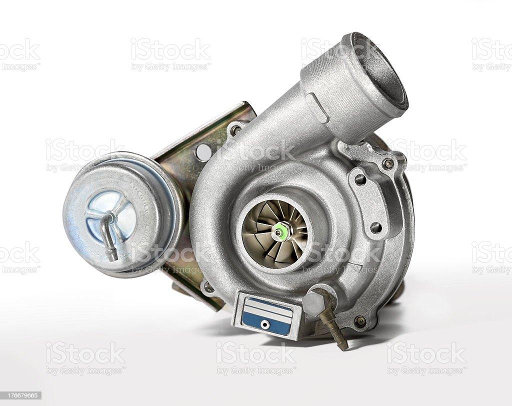 Turbocharger royalty-free stock photo