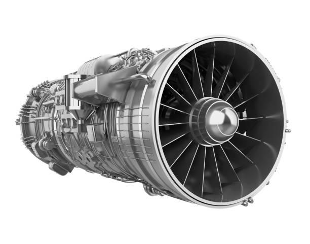 turbofan jet engine isolated - silnik odrzutowy zdjęcia i obrazy z banku zdjęć