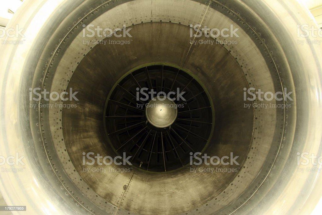 Turbofan royalty-free stock photo