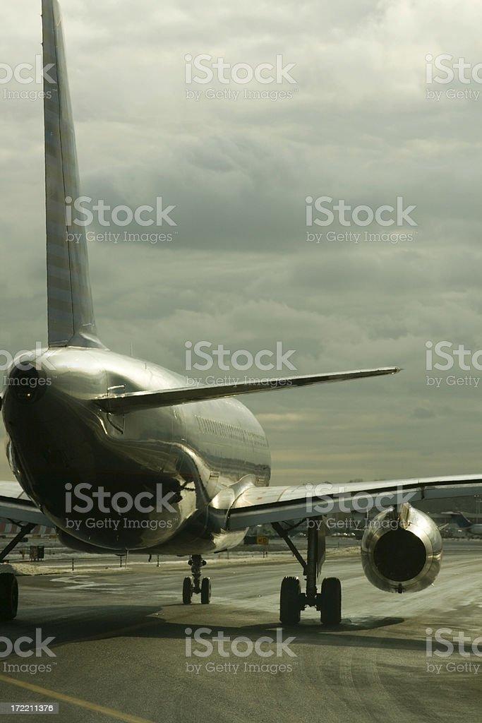 Turbulence Ahead royalty-free stock photo