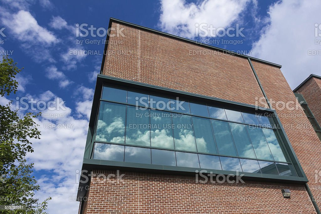 Turchin Center for the Visual Arts at App State stock photo
