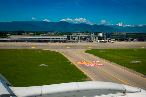 Turin Airport Stock Photo - Download Image Now - iStock