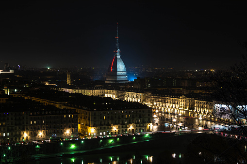 Turin by night