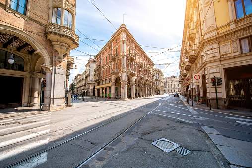 Turin city in Italy