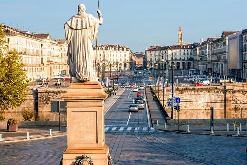 Turin cityscape view
