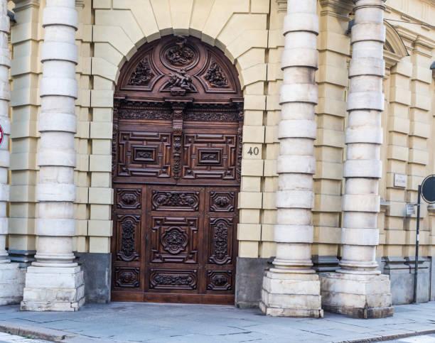 Turin - Devil Door stock photo