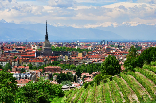 Turin in Piedmont, Italy