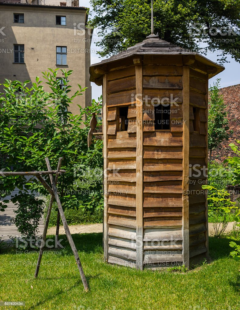Turin Medieval Garden In Piazza Castello Stock Photo & More Pictures ...