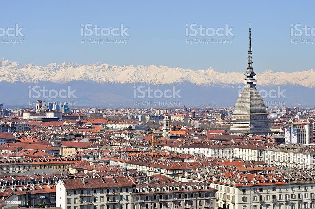Turin, Piedmont, Italy. royalty-free stock photo