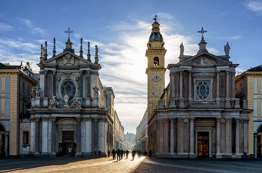 Turin, San Carlo Square