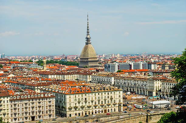 Turin skyline stock photo