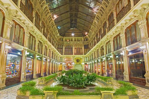 Turin - The Galleria Subalpina