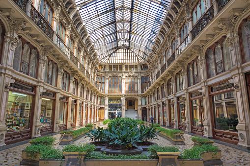 Turin - The Galleria Subalpina.