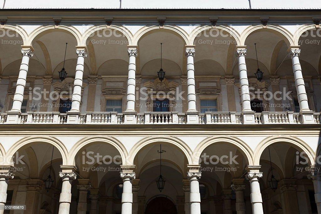 Turin university building stock photo