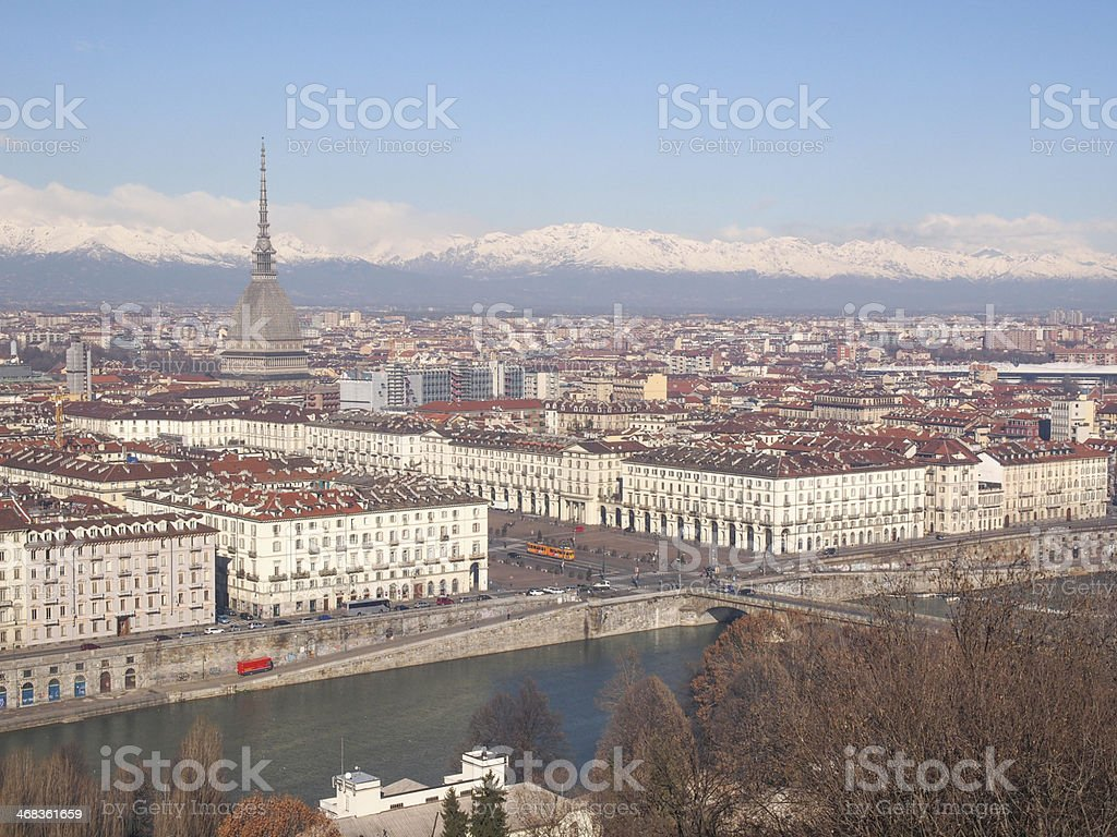 Turin view royalty-free stock photo