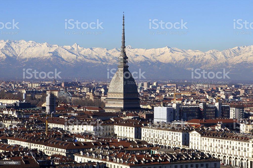 Turin View stock photo