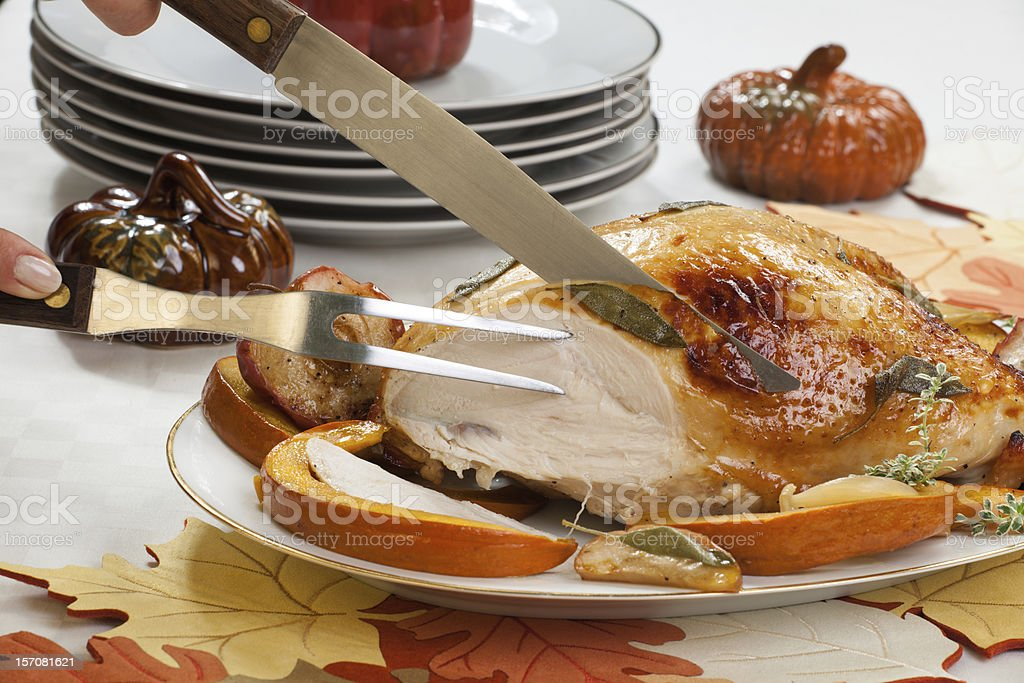 Turkey Breast With Sage - Honey Rub stock photo
