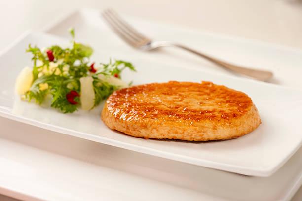 Turkey burger stock photo