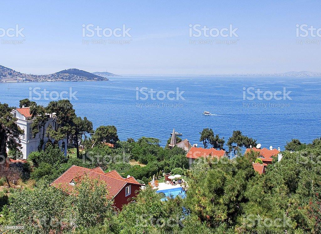 Turkey,  buyukada, Istanbul stock photo