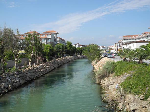 türkei-kanal - urbanara stock-fotos und bilder