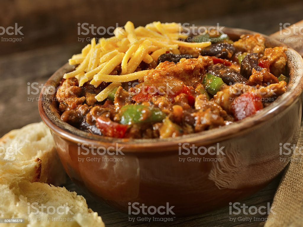 Turkey Chili stock photo