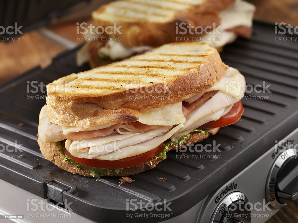 Turkey Club Panini​​​ foto