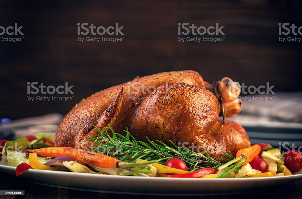Turquía la cena - foto de stock