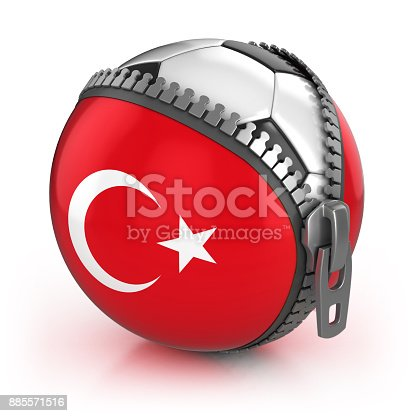 istock turkey football nation 3d isolated illustration 885571516