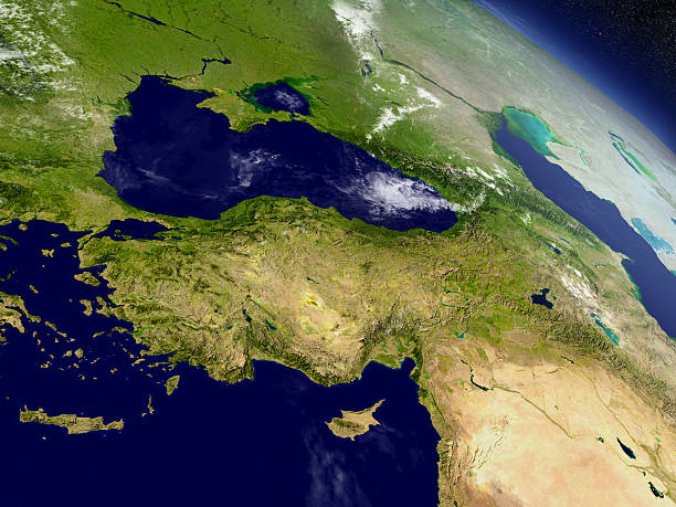 Turkey from space – Foto