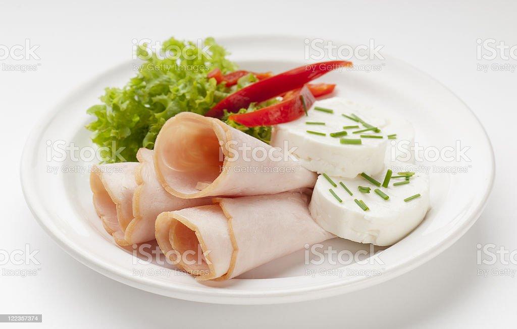 Turquía jamón - foto de stock
