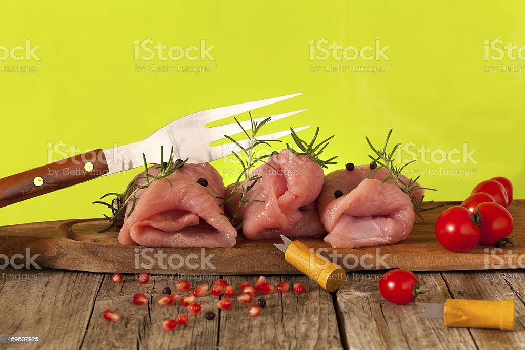 Turkey Meat royalty-free stock photo