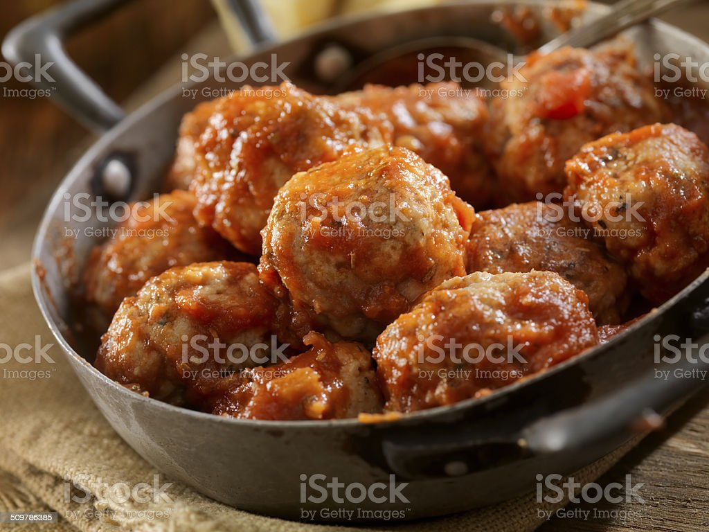 Turkey Meatballs stock photo